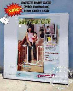 Safety baby gate (with extension)