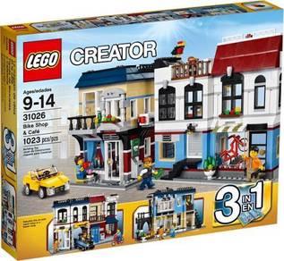 LEGO 31026 Bike Shop and Cafe
