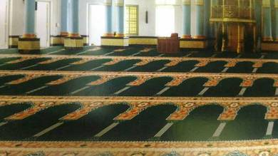 Karpet Mimbar Raudhah. Carpet 8mm - 10mm