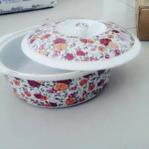 Beautiful bowl for serving (with floral design)