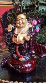 Laughing buddha chinese vintage feng shui SLG