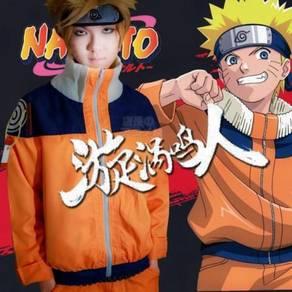 Naruto uzumaki first generation cosplay costume
