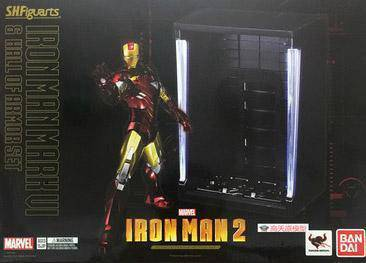 Iron Man Mark VI Hall Armor set Bandai