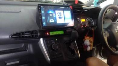 TOYOTA WISH Android OEM MONITOR Player