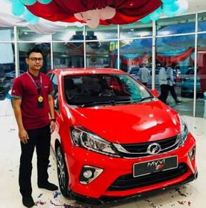 New Perodua MyVi for sale
