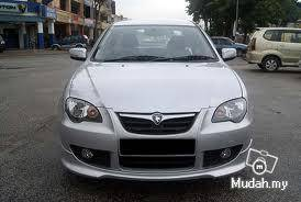 Proton persona elegance se bodykit with paint