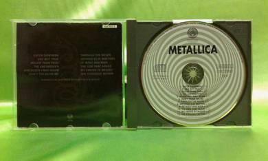 Metallica BLACK ALBUM 1991 Vertigo UK CD swirl