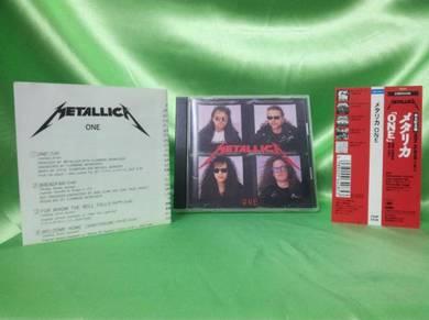 Metallica ONE 1989 CBS Sony Japan CD