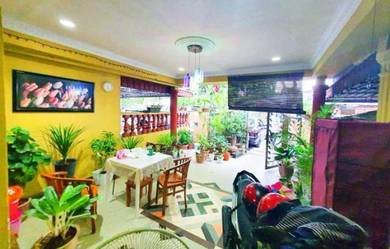 FACING OPEN 2 Storey Taman Samudra Near To Giant Bt Caves RENOVATED