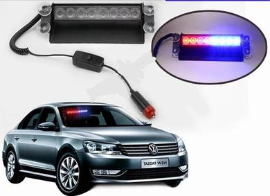 Car flashing led red/blue strobe light