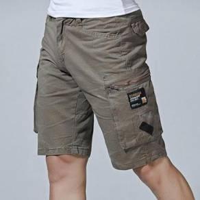 Men's Large Multi Pocket Cotton Pants MFCYG 9422