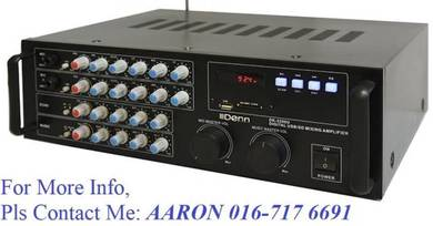 Denn Digital Stereo USB/ SD Mixing Amplifier