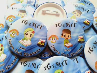 Button Badge Pin