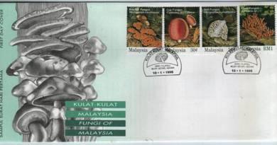 First Day Cover Fungus Fungi Malaysia 1995