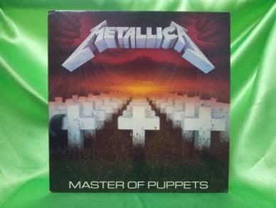 Metallica MASTER OF PUPPETS 1986 Elektra LP