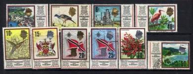 Trinidad & tobago qeii 1969-1972 used bj708