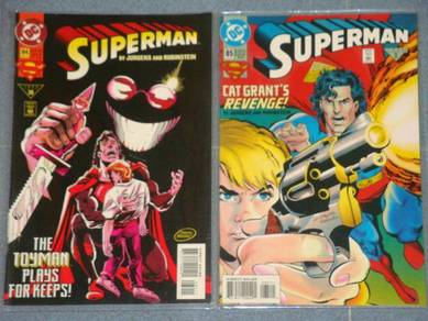 SUPERMAN. issue 84-85. Toys. complete set