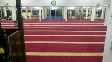 Low Budget Mosque Carpet karpet