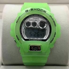 Digital autolight watch