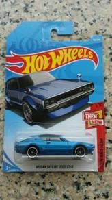 HotWheels Nissan Skyline 2000 GT-R Blue