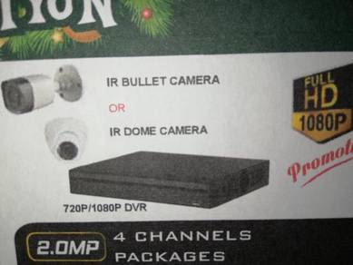 Full HD 2MP CCTV Camera System for house