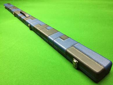 Blue Black Patchwork One Piece Snooker Cue Cases