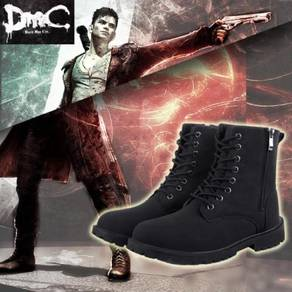 DMC Devil may cry Dante cosplay shoes Knight boots