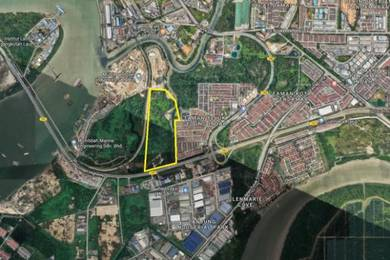 Commercial land 47 Ekar Pulau indah west port klang