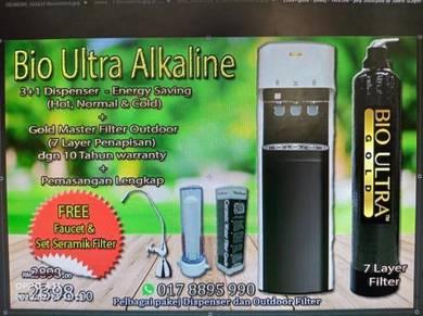 Water Filter Penapis Air Bio ULTRA cooler BARU DiM