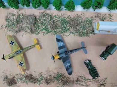 German world war ii fighter plane diy model