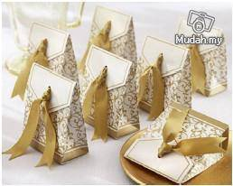 Wedding Gifts - Gold Ribbon Box
