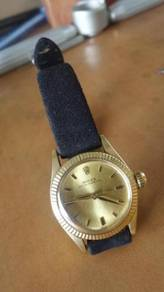 Rolex 18K Solid Gold Ladies Watch
