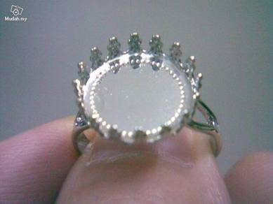 ABRS9-C001 Silver 925 Crown Style Ring - All Size