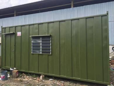 Cabin Besi 20kaki / Office Heavy Duty Cabin