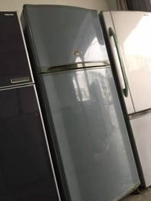 Toshiba Blue Fridge 2 doors Refrigerator Peti Seju