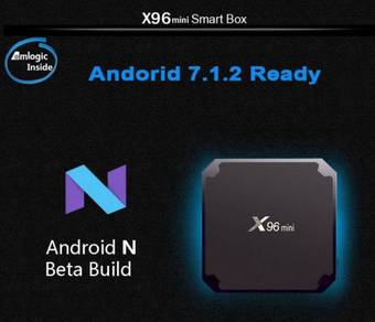 X96MINI LATEST Android 7.1 TVBOX All In One TV BOX