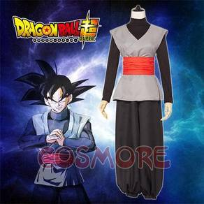 Dragonball super black goku cosplay costume