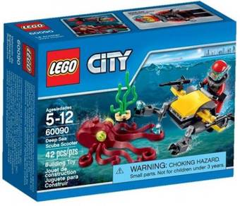 LEGO 60090 Deep Sea Scuba Scooter