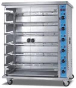 M186 Horizontal Gas Chicken Roaster 6-Rack