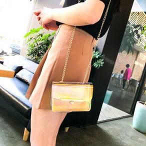 Women's Fashion Jelly Word Lock BLSE 31279