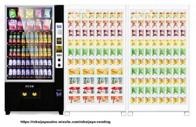 1 New Single Combo Vending Machine +2 Locker 64+80