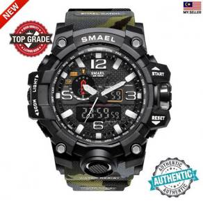 Waterproof Camouflage Military PU Digital Watch LE