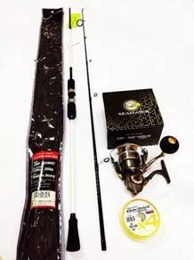 Seahawk cross rod combo seahawk crosswave reel