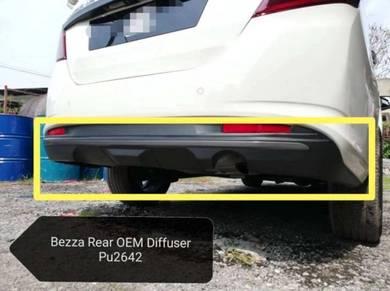 Perodua Bezza Rear OEM Diffuser PU