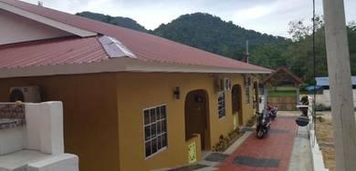 Rumah percutian tepi laut pulau pangkor