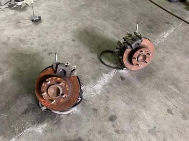Honda cl9,cl7,sda rear disc brakes set
