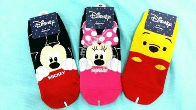 Kawaii Korean kids Sock Mickey,Minnie,Pooh bear