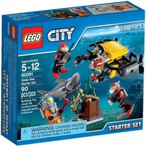 LEGO 60091 Deep Sea Starter Set