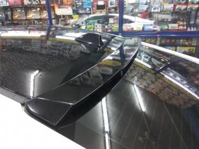 Honda civic fc abs roof top glass spoiler bodykit