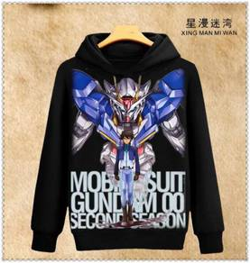 Anime Gundam sweater hoodie long sleeve